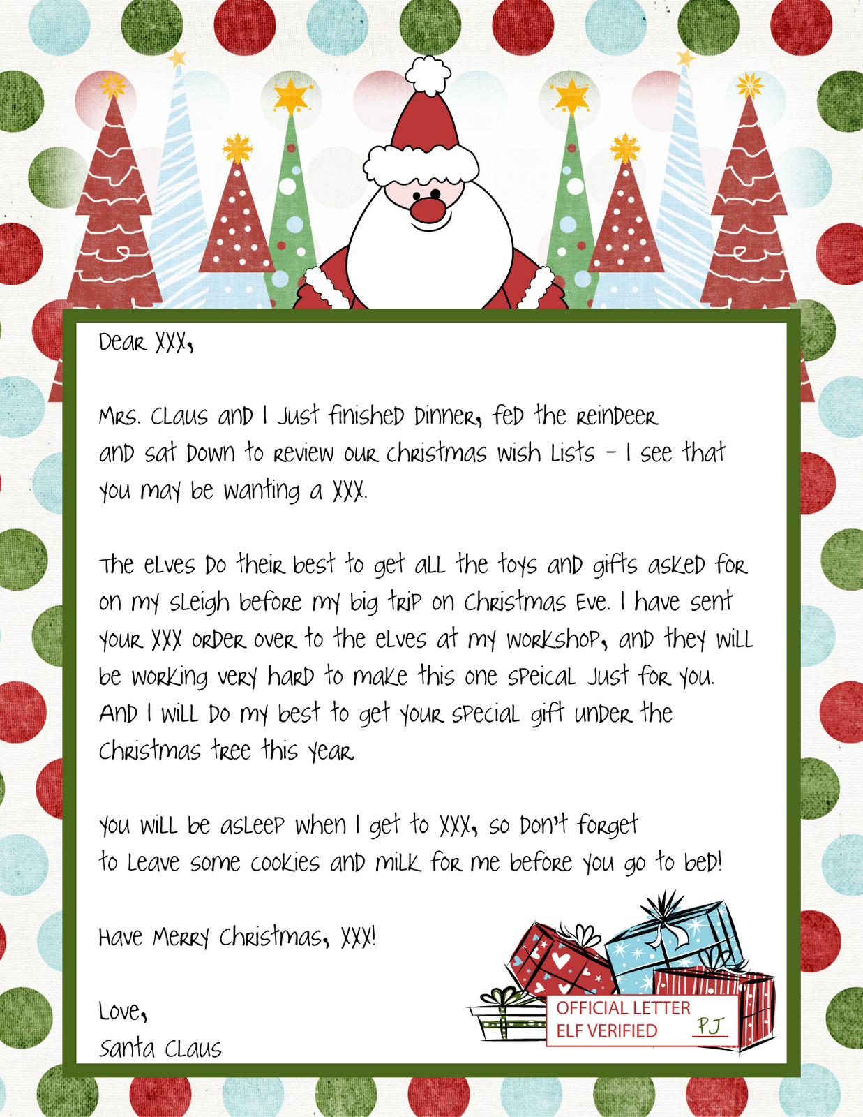 Printable Blank Santa Claus  Free Large Images …  Weddings  Fathe… With Blank Letter From Santa Template