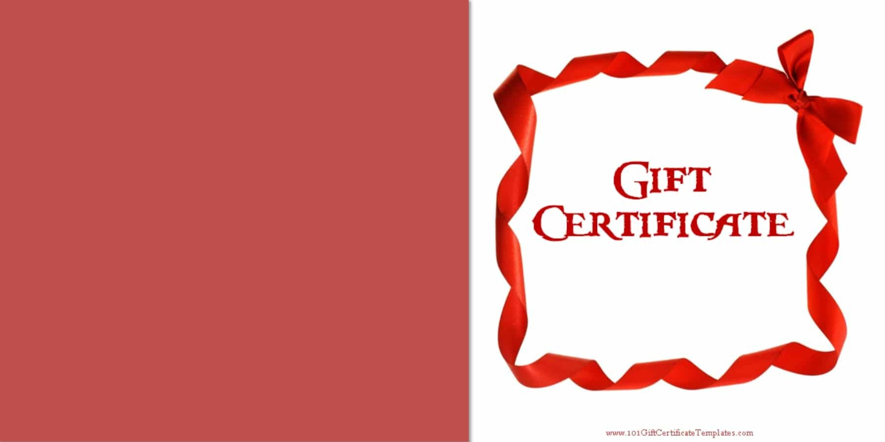 Printable Gift Certificate Templates For Anniversary Certificate Template Free