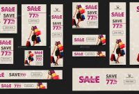 Printable Product Sale Banners  Psd Ai Eps Vector  Free within Product Banner Template