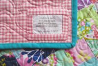 Printable Quilt Label Templates Beautiful Free Patterns For Quilt in Quilt Label Template