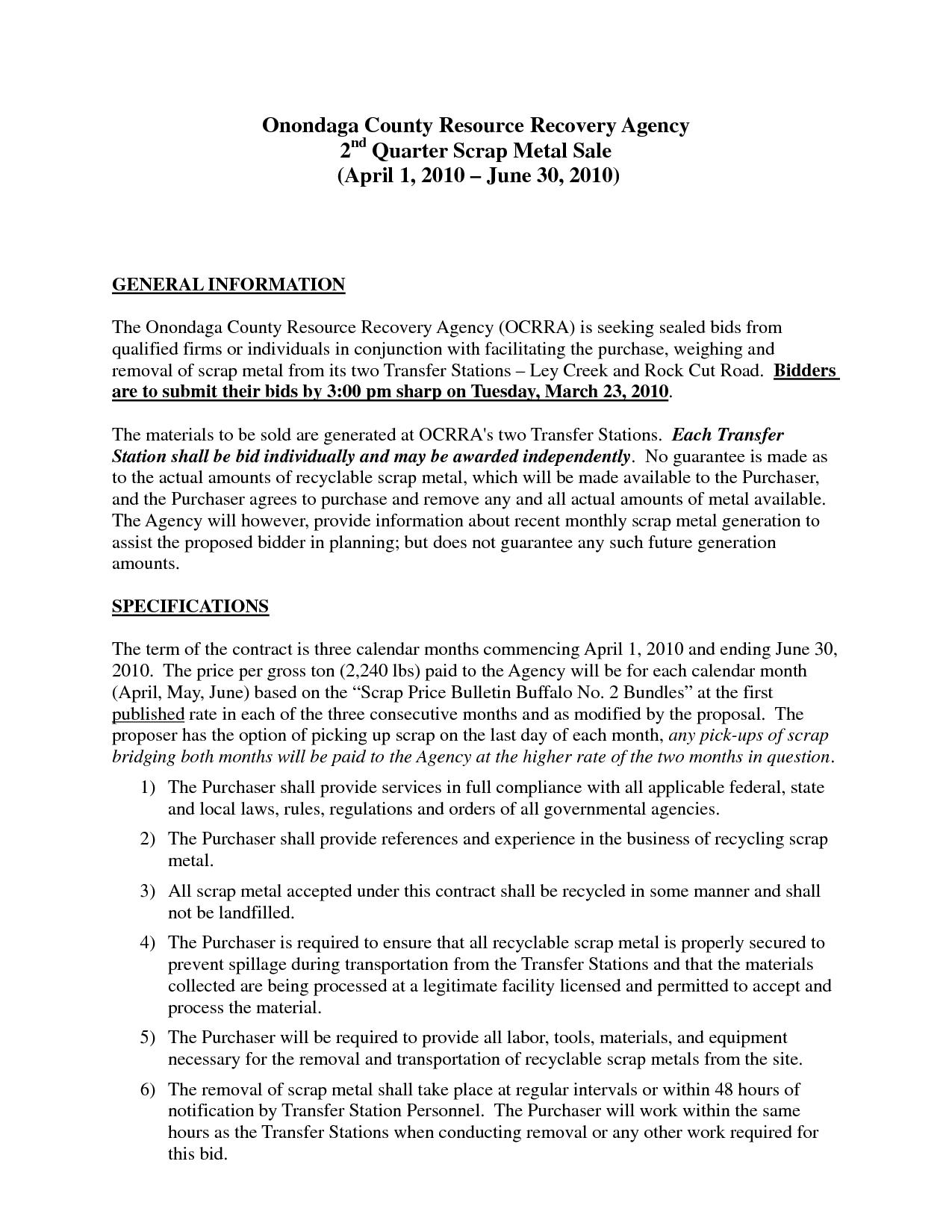 Printable Sample Business Proposal Template Form  Forms And In Sales Business Proposal Template