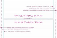 Printable Table Tent Templates And Cards ᐅ Template Lab with regard to Fold Over Place Card Template