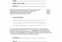 Printable Vehicle Purchase Agreement Templates ᐅ Template Lab pertaining to Car Purchase Agreement Template