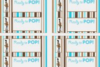 Printable Vending Machine Drink Labels  Of Pop Label Template with Ready To Pop Labels Template