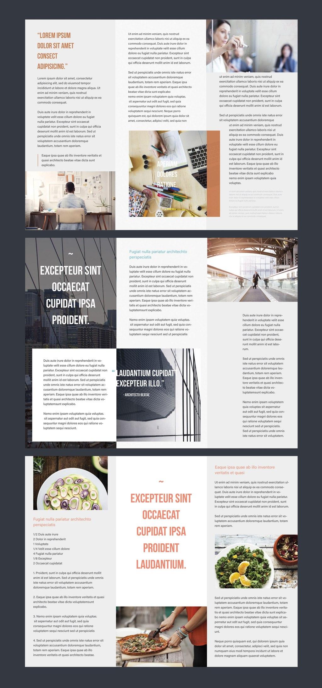 Professional Brochure Templates  Adobe Blog In Adobe Indesign Tri Fold Brochure Template