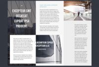 Professional Brochure Templates  Adobe Blog regarding Brochure Templates Adobe Illustrator