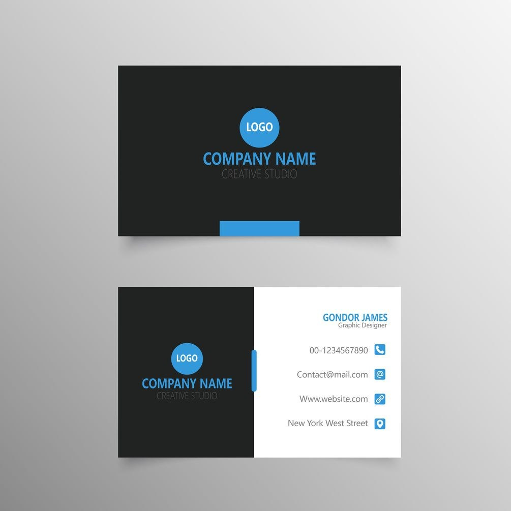 Professional Business Card Template Free Download  Free Business Pertaining To Professional Business Card Templates Free Download
