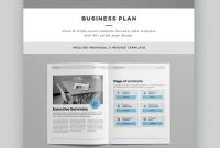 Professional Business Project Proposal Templates For with Business Plan Template Indesign
