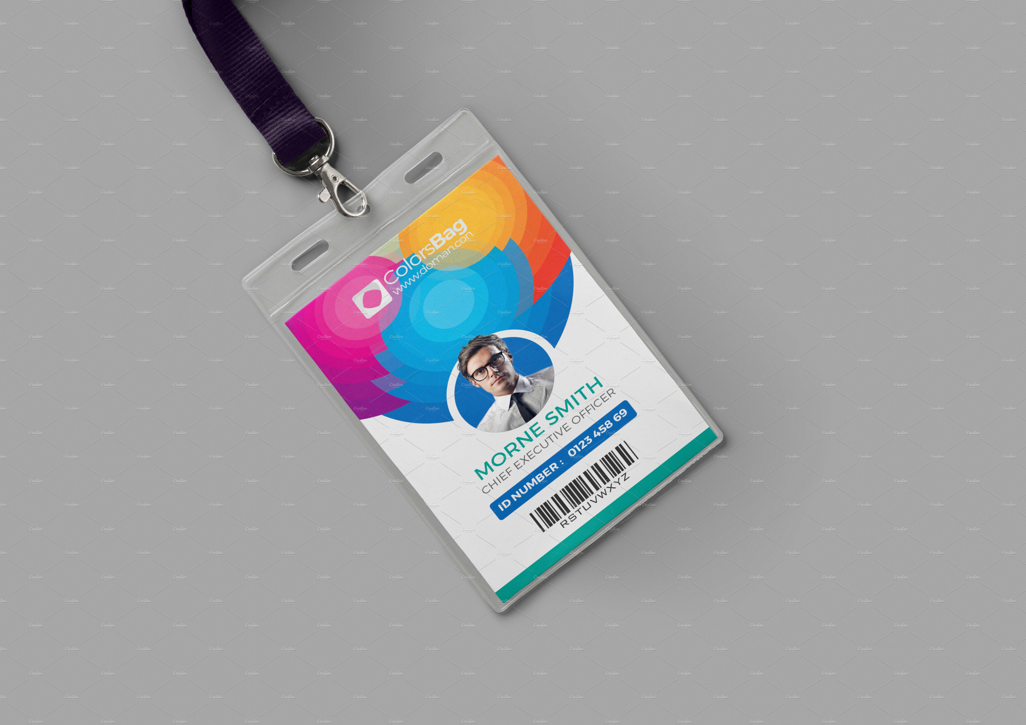 Professional Id Card Designs  Psd Eps Ai Word  Free In Id Card Design Template Psd Free Download