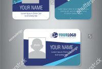 Professional Id Card Designs  Psd Eps Ai Word  Free intended for Portrait Id Card Template