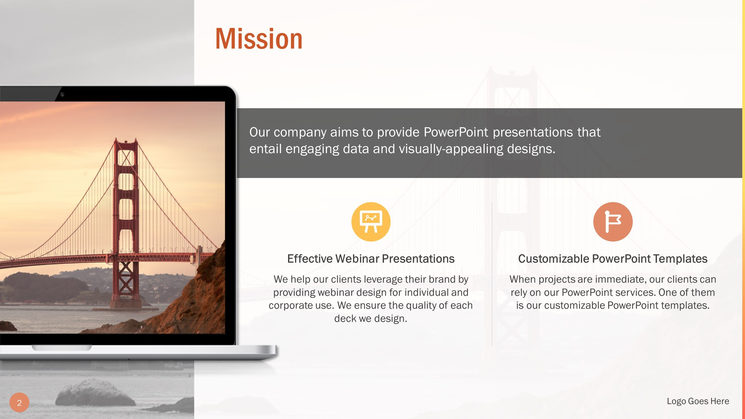 Professional Our Mission Slide Bundle For Powerpoint  Slidestore Intended For Webinar Powerpoint Templates