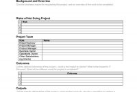 Professional Project Plan Templates Excel Word Pdf ᐅ in New Business Project Plan Template