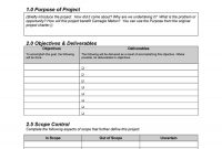 Professional Project Plan Templates Excel Word Pdf ᐅ regarding New Business Project Plan Template