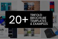 Professional Trifold Brochure Templates Tips  Examples  Venngage regarding Professional Brochure Design Templates