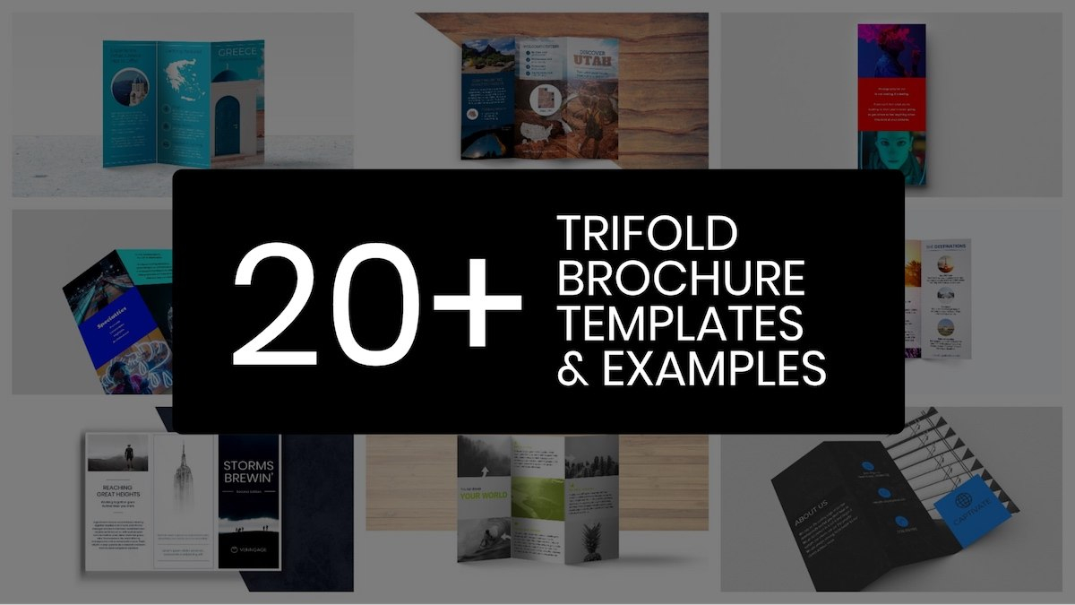 Professional Trifold Brochure Templates Tips  Examples  Venngage With Regard To Brochure Folding Templates