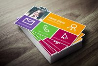 Professionallooking Photoshop Business Card Template Ideas with Photoshop Name Card Template