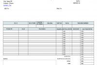 Proforma Invoice Format In Excel for Excel 2013 Invoice Template