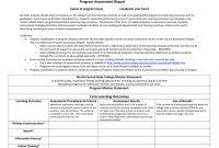 Program Assessment Report Template for Data Quality Assessment Report Template