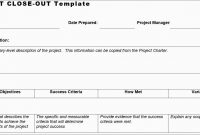 Project Closure Report Template Free Great Project Closure Report in Project Closure Report Template Ppt