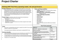Project Management Template Office Templates Charter Example with regard to Business Charter Template Sample