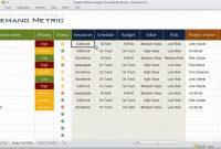 Project Portfolio Template  Youtube regarding Portfolio Management Reporting Templates
