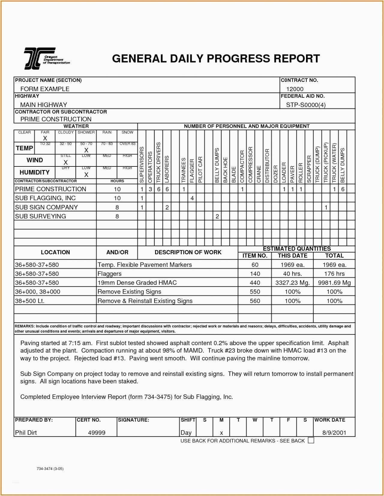 Project Status Report Template Excel Unique Construction Progress Regarding Construction Status Report Template