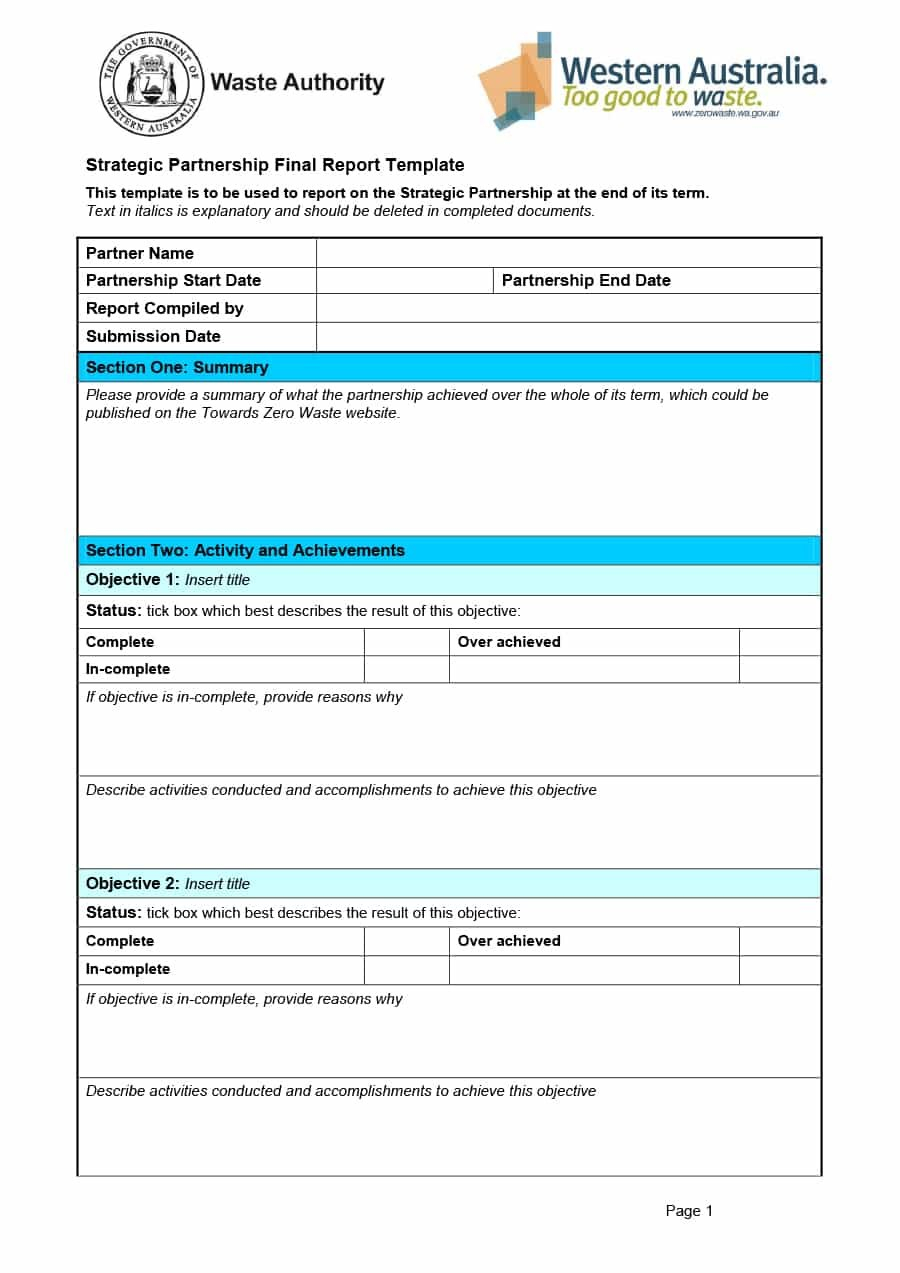 Project Status Report Templates Word Excel Ppt ᐅ Template Lab Regarding Section 37 Report Template