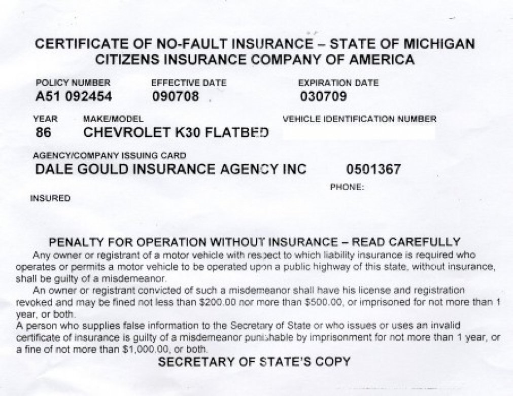 Proof Of Auto Insurance Template Free  Template Business Throughout Free Fake Auto Insurance Card Template