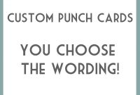 Punch Card Template Word Simple Business Valid New Cards within Business Punch Card Template Free