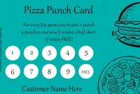 Punch Card Templates  For Every Business Boost Customer throughout Business Punch Card Template Free