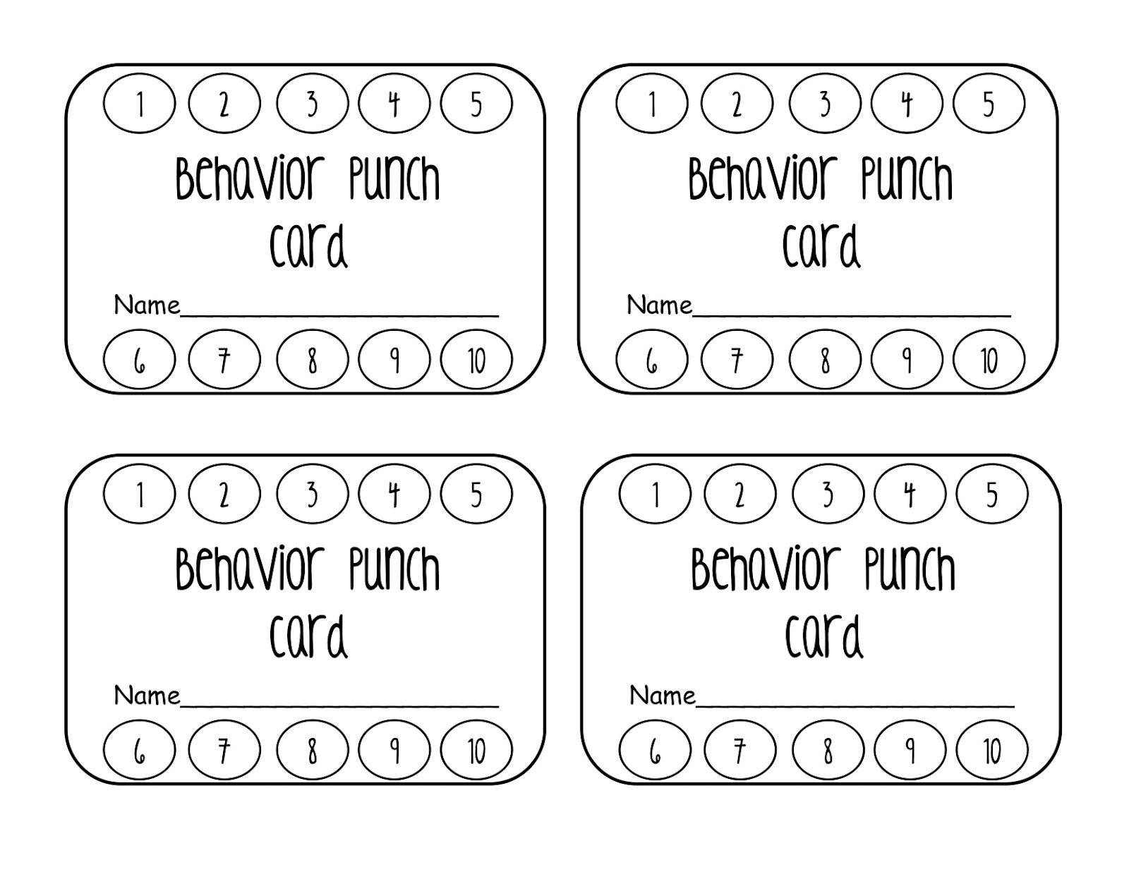 Punchcard Template Pizza Punch Card Template Pu Reward Punch For Reward Punch Card Template