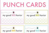 Punchcard Template Pizza Punch Card Template Pu Reward Punch pertaining to Free Printable Punch Card Template
