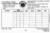 Qsl Template Klad Qsl Card Template Layout And Specifications within Qsl Card Template
