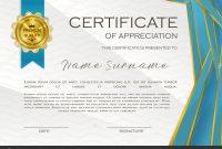 Qualification Certificate Appreciation Design Elegant Luxury Modern within Qualification Certificate Template