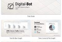 Quarterly Digital Marketing Report Business Presentation  Build regarding Business Quarterly Report Template