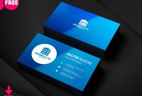 Real Estate Business Card Psd Free Real Estate Business Card intended for Calling Card Psd Template