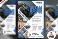 Real Estate Flyer Design Psd  Psdfreebies inside Real Estate Brochure Templates Psd Free Download