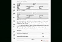 Realtor® Referral Form  Free Download  Referralexchange pertaining to Real Estate Broker Fee Agreement Template