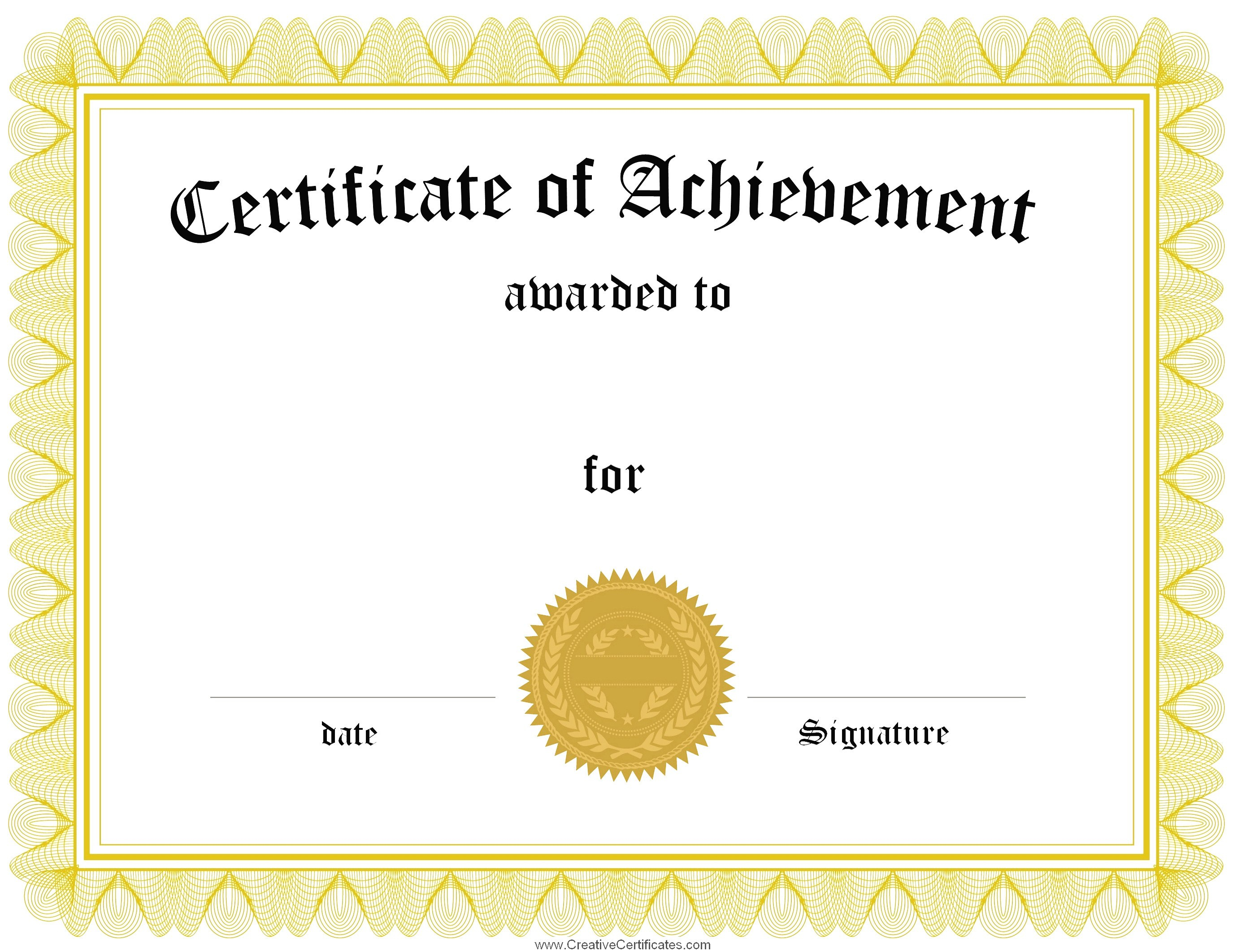 Recognition Certificate Template Free Ideas Award Surprising Of Within Printable Certificate Of Recognition Templates Free