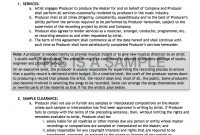 Record Label Contract Pack  Musiclawcontracts in Record Label Contract Template
