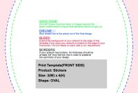 Rectangle Stickers  Individually Cut Or Roll  Nextdayflyers regarding 4 X 2.5 Label Template