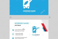 Recycling Bin Business Card Design Template Visiting For Your throughout Bin Card Template