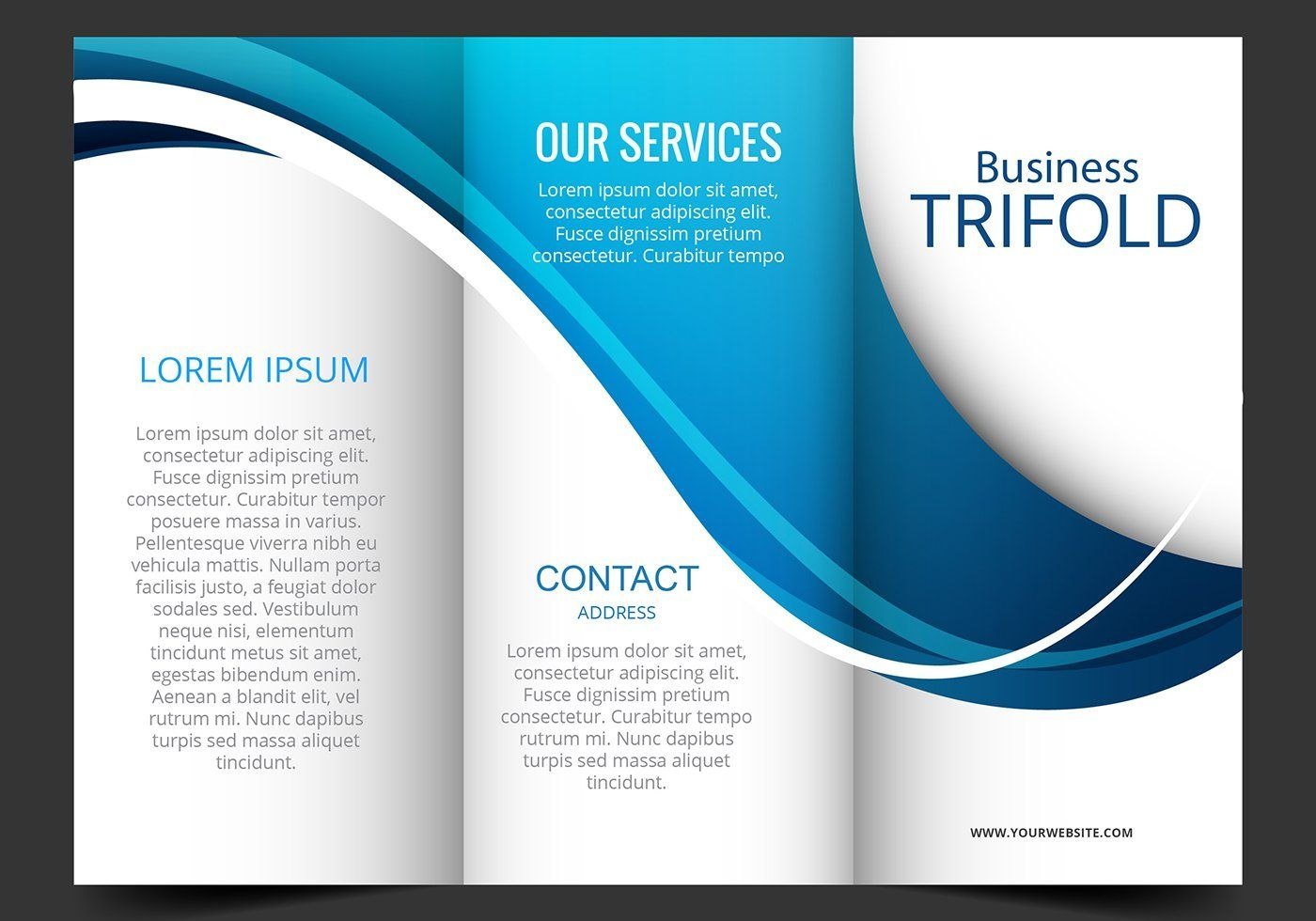 Related Image  Photoshop  Brochure Templates Free Download Intended For 3 Fold Brochure Template Free Download