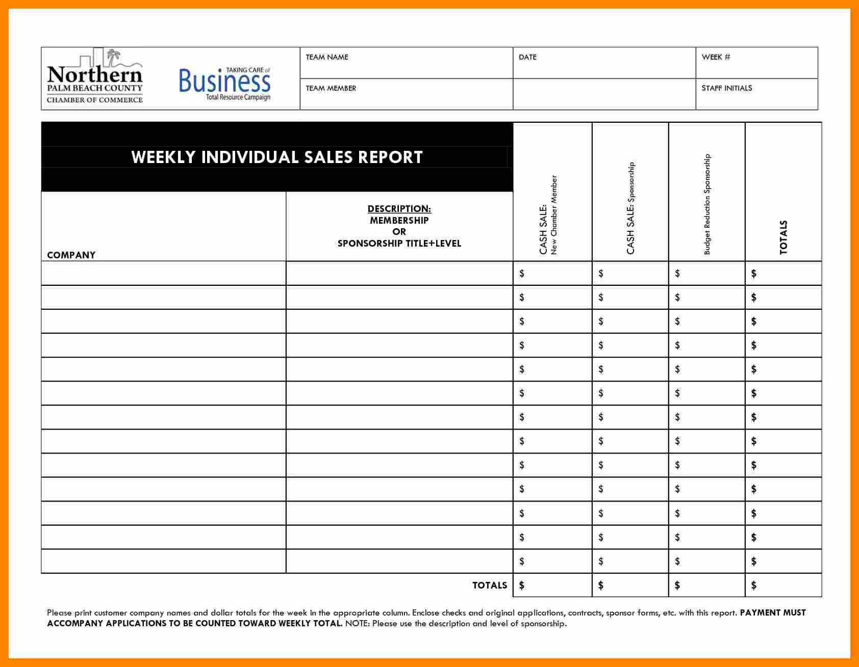Report Sales Call Template Microsoft Word Daily In Excel Free Weekly Throughout Daily Sales Call Report Template Free Download