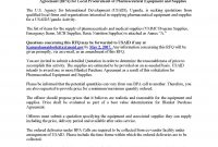 Request For Quotation Sol  Blanket Purchase Agreement within Pharmaceutical Supply Agreement Template