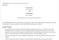 Residential Lease Agreement  Free Rental Lease Form Us  Lawdepot with regard to Common Law Separation Agreement Template