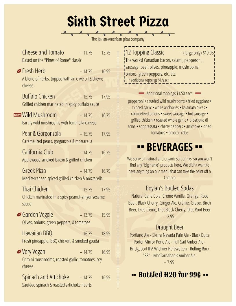 Restaurant Menu Template Word Free Amazing Design Samples Regarding Free Restaurant Menu Templates For Microsoft Word
