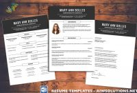 Resume  Cv Template Cover Letter For Ms Word Creative Resume intended for Resume Templates Microsoft Word 2010