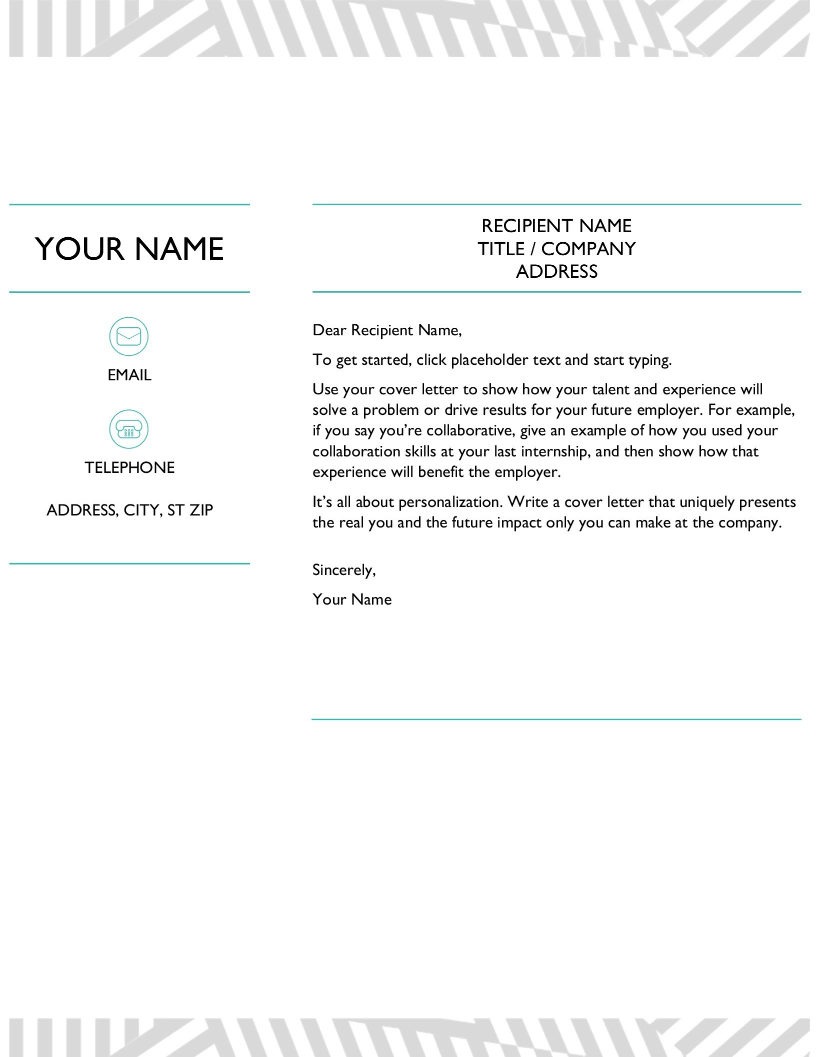 Resumes And Cover Letters  Office For Microsoft Word Resume Template Free