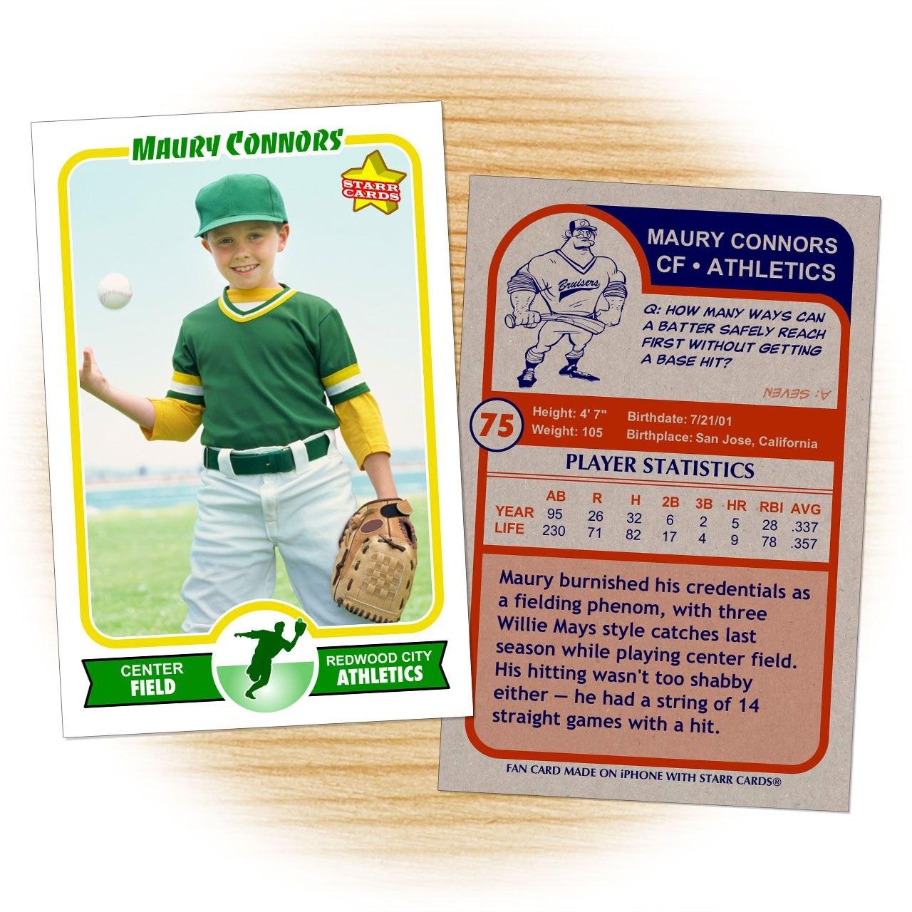 Retro  Series Is The Primary Custom Baseball Card Design Within Inside Baseball Card Template Psd